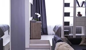 scandinavian Living room by NDubchenko