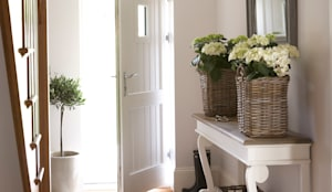 country Corridor, hallway & stairs by Emma & Eve Interior Design Ltd