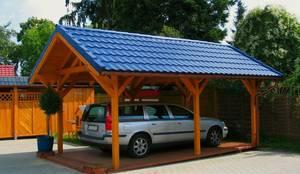 Prefabricated Garage by Ogrodolandia