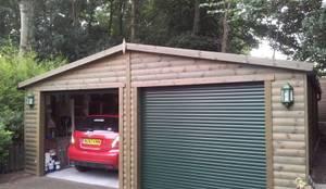 klassische Garage & Schuppen von Regency Timber Buildings LTD