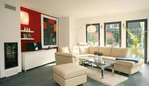 mediterranean Living room by FingerHaus GmbH