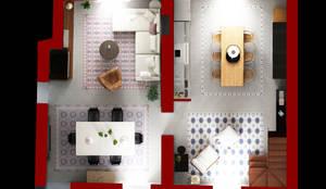 Casas de estilo moderno por Beniamino Faliti Architetto