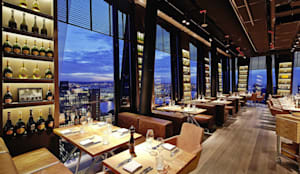 wagner restaurant clouds heaven s bar kitchen in hamburg im h chsten restaurant der stadt. Black Bedroom Furniture Sets. Home Design Ideas
