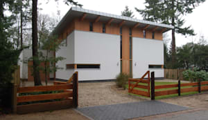 Voorgevel:  Huizen door Thijssen Verheijden Architecture & Management,