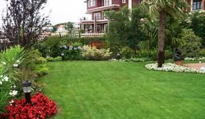 Bahçevilla Peyzaj Tasarım Uygulama – Acarkent: kırsal tarz tarz Bahçe