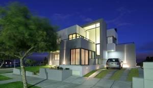 Proyecto D1: Casas de estilo  por CLEMENT-RICO I Arquitectos,