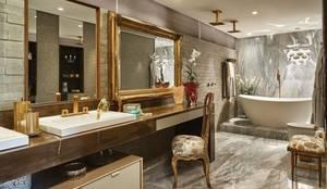 Penteadeira - Banho Casal: Banheiros modernos por Studio Alessandra Lobo