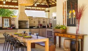 Casa Imbassaí: Terraços  por Jamile Lima Arquitetura