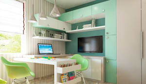 Cuartos infantiles de estilo moderno por Sweet Hoome Interiors