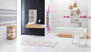 asian Bathroom by Ceramika Paradyż
