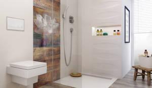 eclectic Bathroom by Ceramika Paradyż