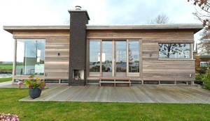 Casas de estilo moderno por Vos | Hoffer | vdHaar architecten
