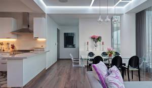 moderne Wohnzimmer von HO arquitectura de interiores