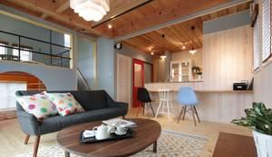 scandinavian Living room by dwarf