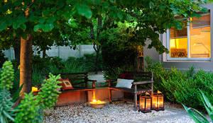 JUNOR ARQUITECTOS의  정원