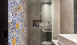 Casa100 Arquitetura: modern tarz Banyo