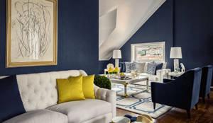 modern Living room by Prego Sem Estopa by Ana Cordeiro