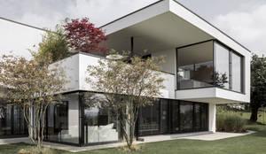 meier architekten: modern tarz Evler