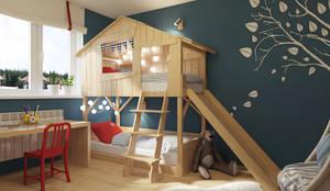 Dormitorios infantiles de estilo ecléctico de Мастерская дизайна Welcome Studio