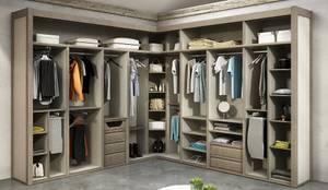 Closets modernos por TODOMADERA ESTEPONA
