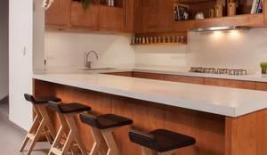 Cocinas de estilo moderno por LGZ Taller de arquitectura