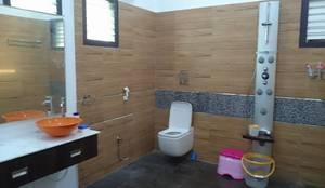 S RESIDENCE : modern Bathroom by DESIGNER GALAXY