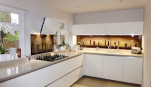 مطبخ تنفيذ Morpheus Glass