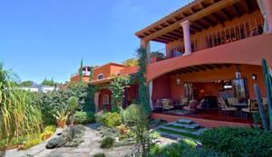 Casa Sancho: Terrazas de estilo  por Terra