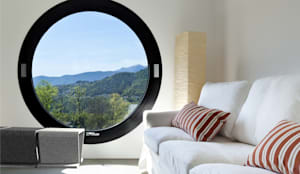 Betonowe meble: styl , w kategorii Salon zaprojektowany przez Modern Line,