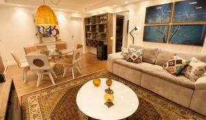 modern Living room by Artenova Interiores