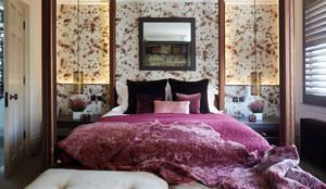 Fulham: modern Bedroom by Rebecca James Studio