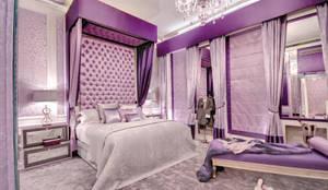 غرفة نوم تنفيذ Rebecca James Studio