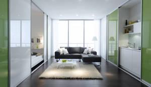 modern Walls & floors by Bravo London Ltd