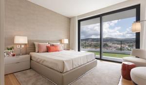 Dormitorios de estilo moderno por Casa MARQUES INTERIORES