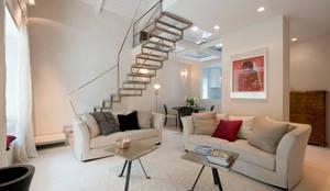 Salon de style de style eclectique par bilune studio