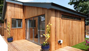 modern Garage/shed by Blankstone