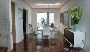 Casa Parral 62: Comedores de estilo  por simbiosis ARQUITECTOS,