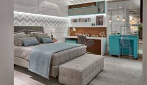 غرفة نوم تنفيذ Lider Interiores