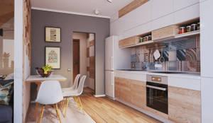 Cocinas de estilo minimalista por Polygon arch&des
