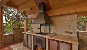 Банный дом : Tерраса в . Автор – Pavelchik Design