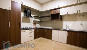 Modular kitchen cabinets: classic Kitchen by Bonito Designs Bangalore
