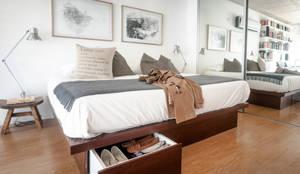 Dormitorios de estilo moderno de MeMo arquitectas