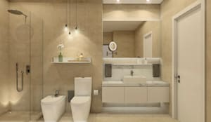 modern Bathroom by MRS - Interior Design & Real Estate Image Consulting