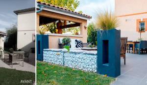 Un jardin design chez soi por e p design emilie peyrille for Auto entrepreneur chez soi