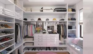 Гардеробная комната: Гардеробные в . Автор – Giovani Design Studio,