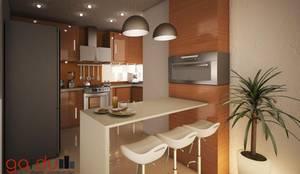 Cozinhas modernas por GarDu Arquitectos