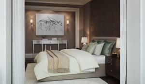 eclectic Bedroom by MARION STUDIO