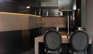 Studio da Empresária - Casa Cor SC'2012: Cozinhas clássicas por CMSP Arquitetura + Design