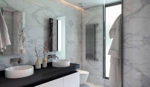 BUUN MOTTO ARCHITECTS – ATLAS TERAS  | Mersin | Turkey   : modern tarz Banyo