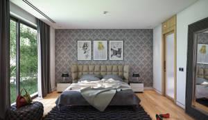 BUUN MOTTO ARCHITECTS – ATLAS TERAS  | Mersin | Turkey   : modern tarz Yatak Odası